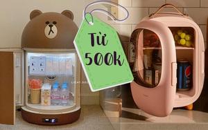 7 tủ lạnh mini từ 500k trữ đồ ăn hay mỹ phẩm đều