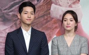 More details about the divorce couple Song-Song: Song Joong Ki gave up the right to share property because of Song Hye Kyo