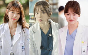 4 beautiful female doctors and dedicated to the profession of the Korean dramas