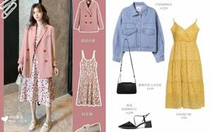 10 set đồ với váy hai dây giúp các nàng mặc xinh hết cỡ khi thời tiết chuyển mùa
