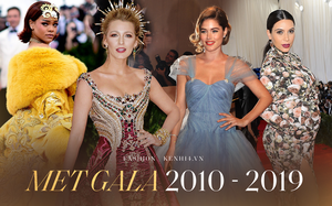 20 bộ cánh khó quên nhất Met Gala thập kỷ qua: Toàn bà hoàng với công chúa đẹp phát khóc, tội nhất cô Kim lưu danh muôn đời với bộ váy