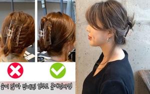 6 cách búi tóc với kẹp càng cua cực dễ, hè này muốn gọn gàng sang chảnh thì chị em phải học ngay