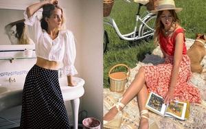 4 mẫu chân váy xinh như mộng được phụ nữ Pháp si mê từ năm này qua tháng khác, bạn sắm theo là style