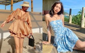 """10 mẫu váy diện đi biển xinh ngất ngây, nhiều bộ không kén dáng nàng nào cũng """"cân"""" dễ dàng"""