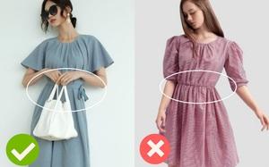 Cùng là váy thắt eo: Có dáng