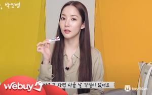 Đẹp sang chảnh nhưng Park Min Young chỉ dùng son dưỡng bình dân chưa đến 100k, chị em mua theo ngay thôi!