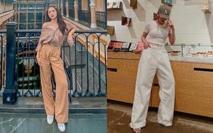 Những kiểu quần tôn dáng được sao Việt lăng xê, chị em đu theo thì