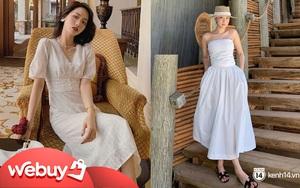 Chỉ cần bỏ ra từ 300k, bạn đã sắm được một em váy trắng diện hè vừa mát vừa xinh không cần chỉnh