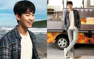 Chẳng màng ăn diện, anh điều dưỡng Kim Soo Hyun chỉ mặc dăm ba món đồ cơ bản vẫn khiến chị em xuýt xoa