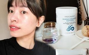 Mua collagen bột là lựa chọn sáng suốt nhất của tôi: Da bóng khỏe dễ sợ, kể cả khi