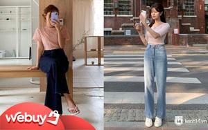 Mê quần jeans nhưng sợ phát ngốt vì nắng hè, chị em cứ nhắm trúng 4 kiểu dáng thoải mái sau mà diện