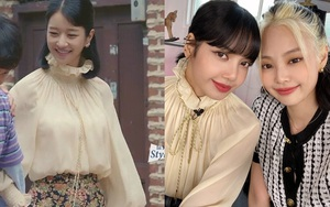 """Cùng diện áo blouse bánh bèo: Lisa """"dừ"""" hơn bình thường, Seo Ye Ji dịu dàng sang chảnh"""