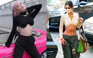 Tóc Tiên bắt trend trước cả Bella Hadid, diện crop top ôm ngực cũn cỡn