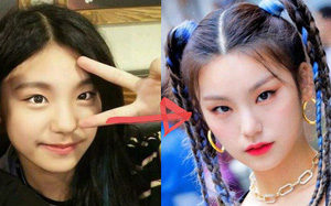 Nhìn Yeji trước và sau khi debut mới thấy sức mạnh của đường kẻ mắt thật đáng kinh ngạc