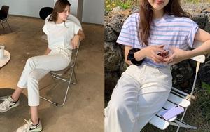 """4 chiêu mặc đẹp với quần jeans trắng bạn nhất định phải """"găm"""" nếu muốn cải tổ style"""