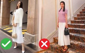 Hòa Minzy với 1 chiếc váy nhưng 2 số phận: Khi thì sang chảnh, cao ráo lúc lại vừa