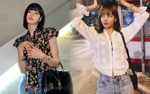 Đi diễn cool là thế nhưng ngoài đời Lisa cực bánh bèo, mặc áo