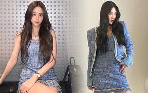 Đụng hàng váy hiệu: Jisoo hở vừa đủ xinh mê tơi - Joy kín như bưng nhưng được cái
