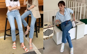 Sao Hàn có đến 8 chiêu nâng tầm sang xịn cho quần baggy jeans, copy theo thì style của bạn cũng thăng điểm tức thì - ảnh 9