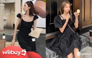 Váy đen không chỉ sang mà còn che nhược điểm body tài tình, nàng nào muốn lên đời style thì nên sắm ngay