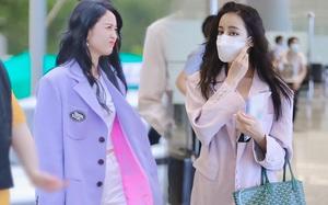 Mê hoặc loạt mỹ nhân Cbiz lúc này là blazer màu tím lilac, sắm theo là được khen ăn mặc