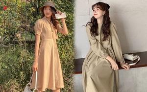 Đáng sắm nhất bây giờ là váy màu be: Xinh, yêu, diện lên là thấy không khí mùa thu liền
