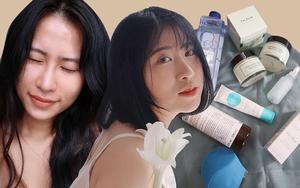 Cô nàng da thiên dầu chia sẻ 3 sản phẩm chủ lực giúp da ẩm mượt, khen nức nở 1 hũ kem dưỡng giá chỉ 300k