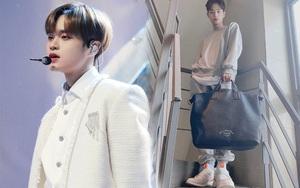 Fan mừng húm vì mỹ nam Hàn Dae Hwi đi giày
