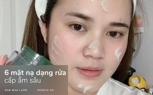 6 loại mặt nạ rửa dưỡng ẩm cao: Đã tốt còn tiết kiệm, ai từng dùng cũng phải kháo nhau mua lại