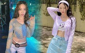 Jennie, Taeyeon đến Amee đều tích cực lăng xê cardigan buộc dây, không muốn