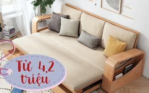 7 sofa giường từ 4,2 triệu cực phù hợp với nhà chật