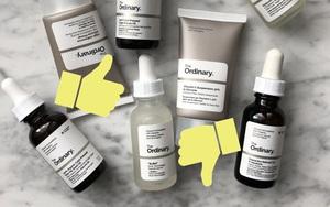 Beauty blogger chấm điểm 4 sản phẩm chứa acid của The Ordinary: 3 món đáng mua, 1 món nên cân nhắc
