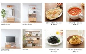 MUJI Việt Nam cập nhật catalog online: Vô vàn đồ gia dụng - nội thất, hay nhất là gia vị nấu ăn - đồ ăn vặt dưới 100k