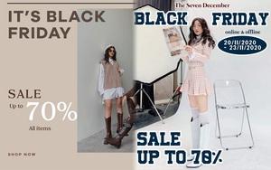 """Chị em hóng ngay: List các shop thời trang hot hit sale """"sập sàn đến 80% dịp Black Friday - ảnh 41"""
