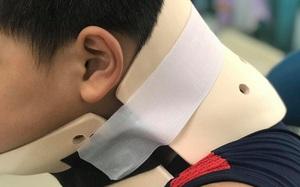 TP.HCM: Bắt chước trò chơi nhào lộn trên TikTok, bé trai 10 tuổi ngã vẹo cổ, đầu bị nghiêng sang một bên