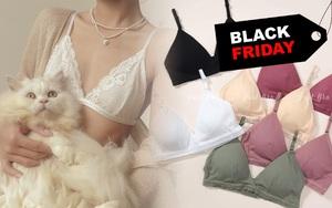 """Loạt shop nội y sale """"ngập lối"""" Black Friday: Giảm đến 80%, đồng giá từ 29k"""