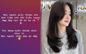 Đến Hòa Minzy còn hỏi nơi cắt tóc layer đẹp thì chị em cũng nên