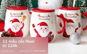 11 mẫu cốc Giáng sinh từ 120k, mua tặng bạn bè là ai cũng thích mê