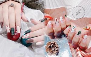 Đón Noel với 10 bộ nail xinh miễn bàn