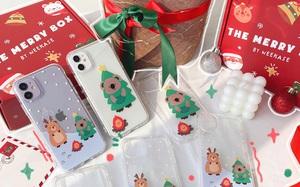 Clip: Đi sắm ốp điện thoại làm quà Noel phút chót, cute thế này ai nhận được cũng thích