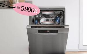 4 máy rửa bát bán chạy nhất ở các siêu thị điện máy, có loại sale đến 40% tội gì không mua