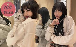 Fan náo loạn vì chiếc gương 200 triệu của Lisa: Đến con mèo soi gương cũng thấy bớt mập!