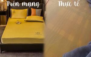 Thần shopping cũng gặp tai nạn: Mua ga giường màu vàng nhưng nhận lại tấm vải... trong suốt như nước ngô