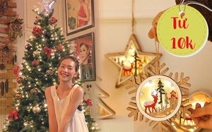 Sao Việt trang hoàng nhà dịp Giáng sinh siêu lung linh, muốn