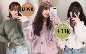 Clip: Lượn nhanh vào Zara - H&M, mình đã tia được 7 em áo ấm siêu xinh giá chỉ từ 499K