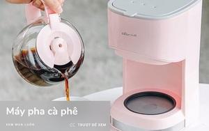 6 máy pha cà phê xinh - xịn chỉ từ 650k, mua để khỏi tốn tiền ra tiệm