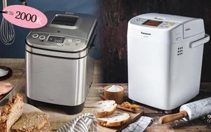 5 máy làm bánh mì giá từ 1,9 triệu cho bánh ngon như ngoài tiệm, cách dùng cực nhàn
