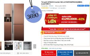 7 tủ lạnh đang sale đến 40%: Từ 3,6 triệu là sắm được một