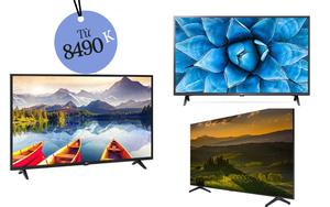 4 Smart TV bán chạy nhất tại các siêu thị điện máy, giá từ 8,4 triệu