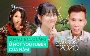 """Hạng mục lắm """"twist"""" nhất WeChoice 2020: Thiên An lội ngược dòng ngoạn mục, Hậu Hoàng bất ngờ bị Lâm Vlog """"giật"""" top 1"""